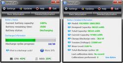Тестирование батареи ноутбука